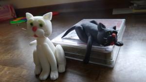 Fondant Katze Figurentorte