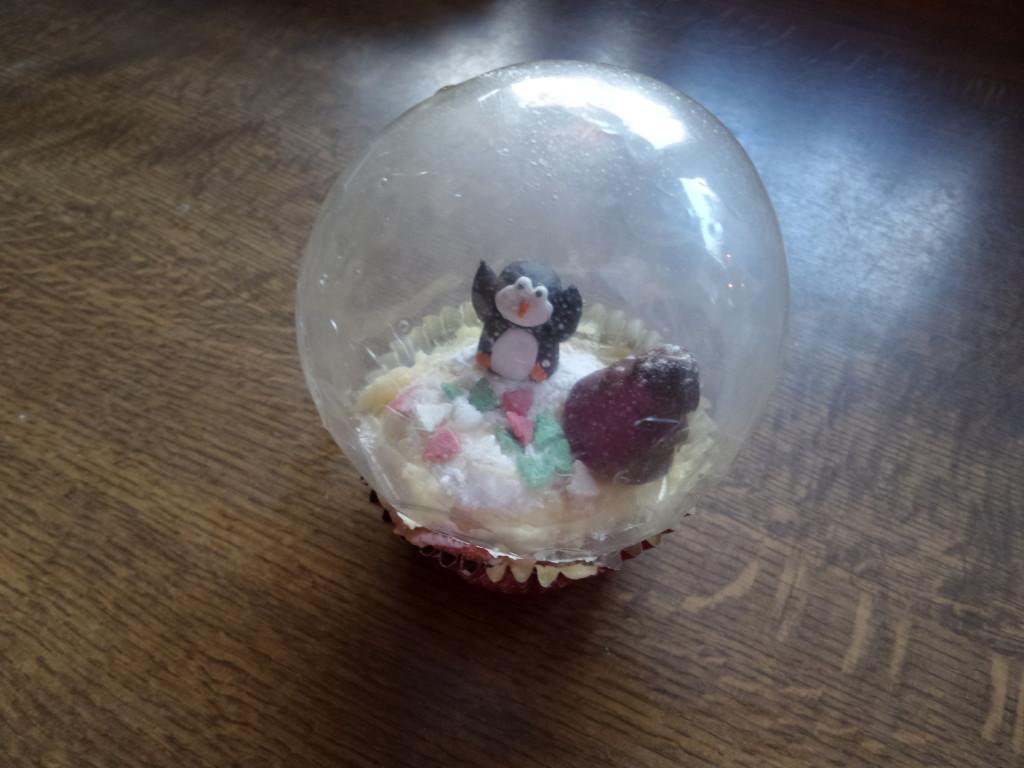 Snowglobes Cupcakes Schneekugel