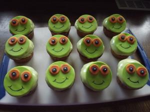 Frösche Muffins